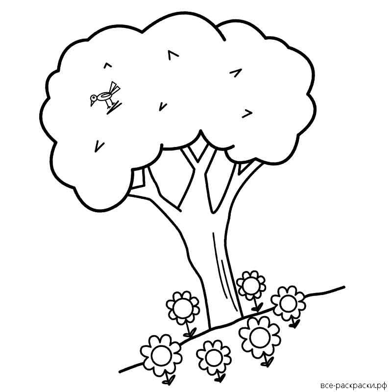 Методика раскраска дерево